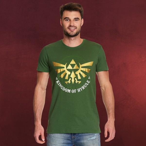 Zelda - Kingdom of Hyrule T-Shirt grün