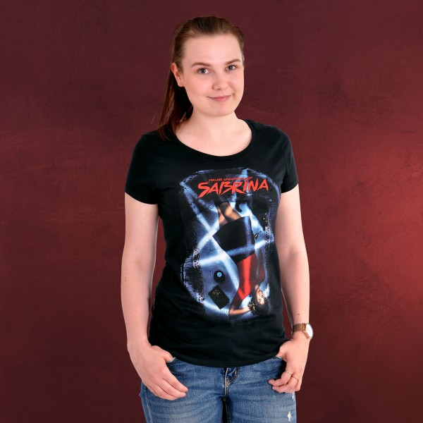 Chilling Adventures of Sabrina - Poster T-Shirt Damen schwarz