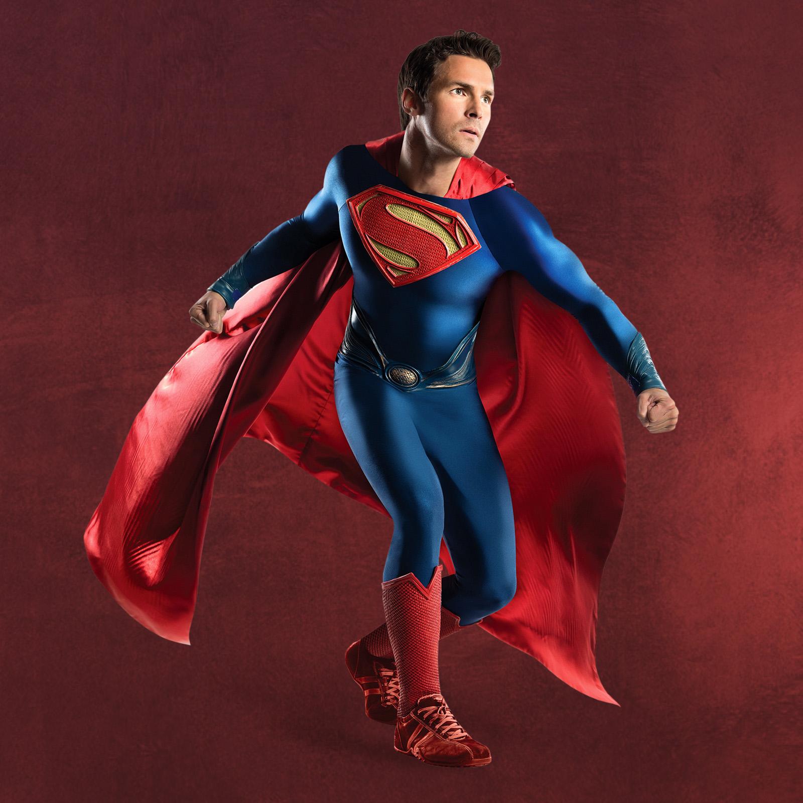 superman deluxe film kost m elbenwald. Black Bedroom Furniture Sets. Home Design Ideas