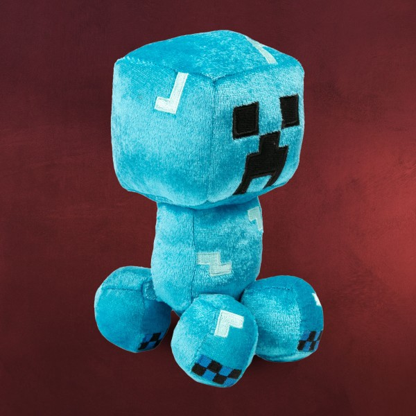 Minecraft - Happy Explorer Charged Creeper Plüsch Figur 19 cm