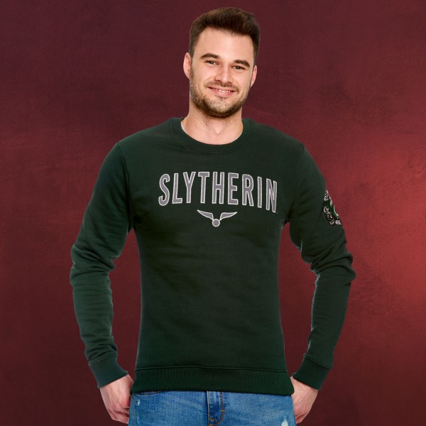 Harry Potter - Team Slytherin Sweater grün