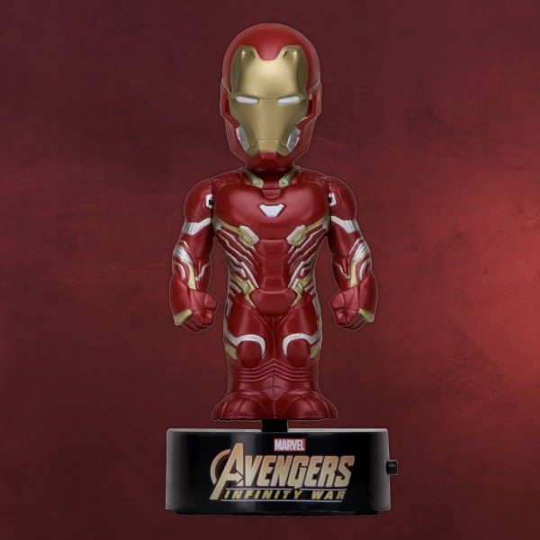 Avengers - Iron Man Body Knockers Solar Wackelfigur