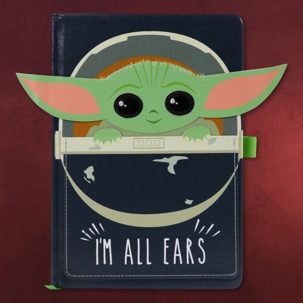 The Child Ears Notizbuch A5 - Star Wars The Mandalorian