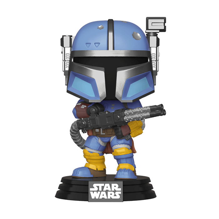 Heavy Infantry Mandalorian Funko Pop Wackelkopf-Figur - Star Wars The Mandalorian