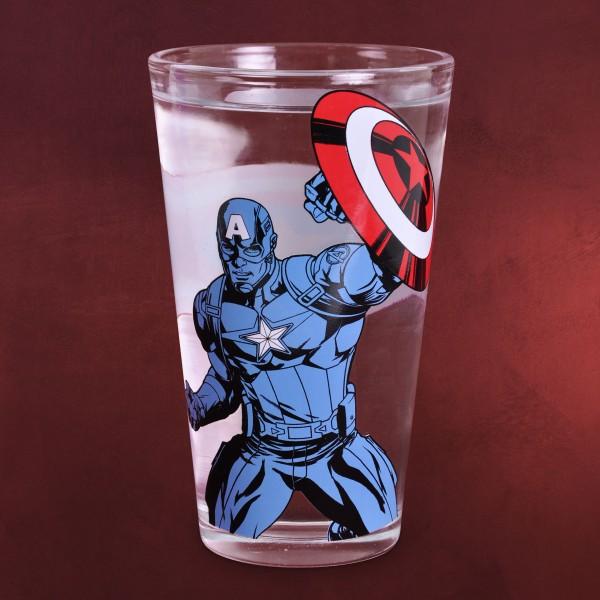 Captain America - Farbwechsel Glas
