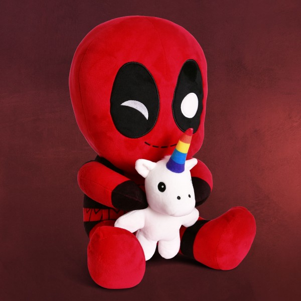 Deadpool - Unicorn HugMe Plüsch Figur mit Vibration 36cm