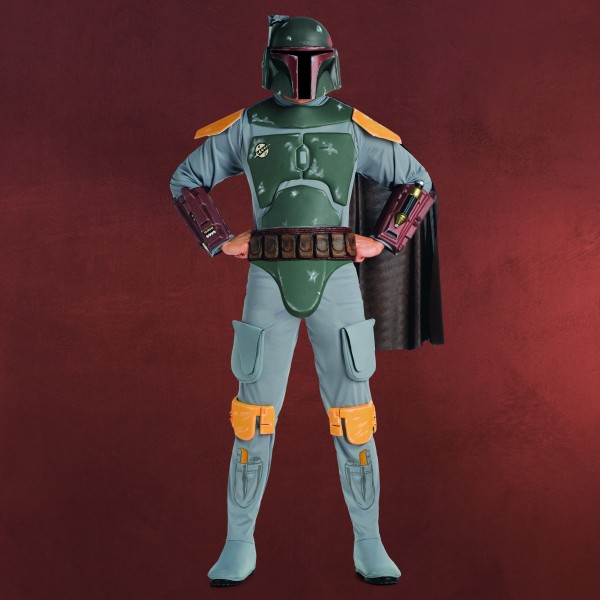 Star Wars - Boba Fett Deluxe Kostüm Herren