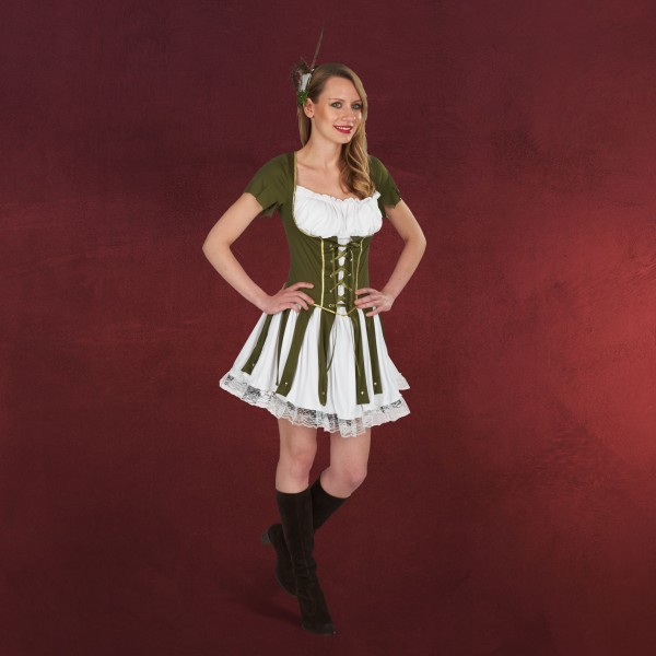Robin Hood Kleid - Kostüm Damen