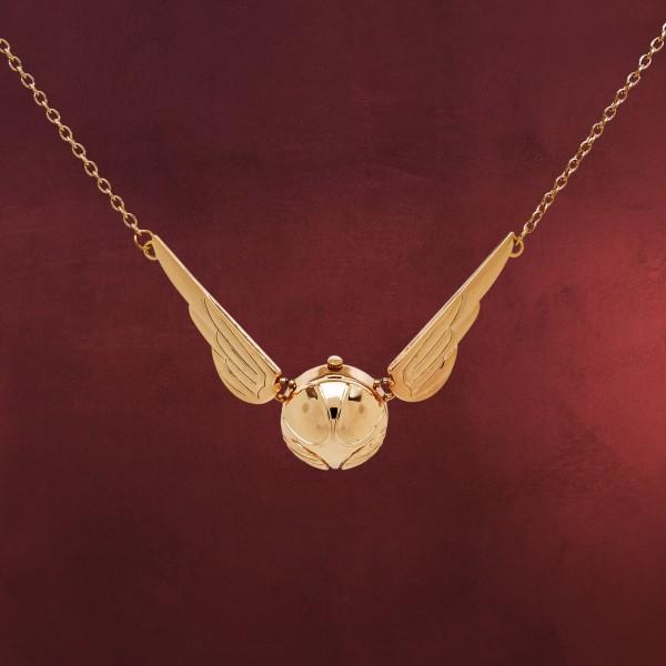 Harry Potter - Goldener Schnatz Quidditch Taschenuhr