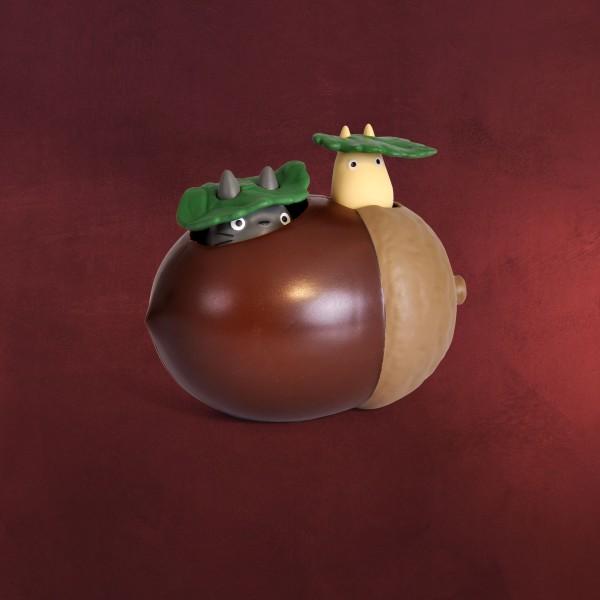 Totoro - Totoros auf Eichel Aufzieh-Figur