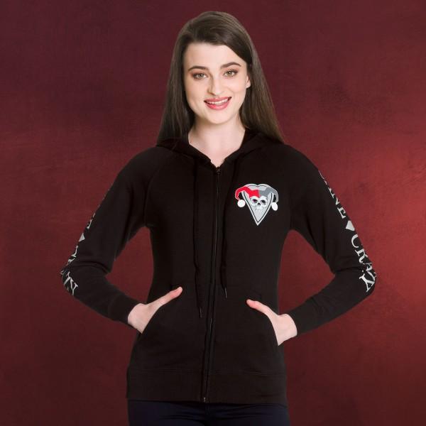 Harley Quinn - Sane & Crazy Kapuzenjacke Damen