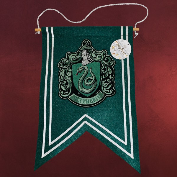 Harry Potter - Slytherin Wappen Banner