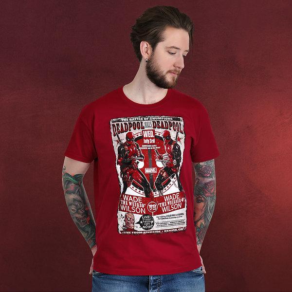 Deadpool - Rivalen T-Shirt rot