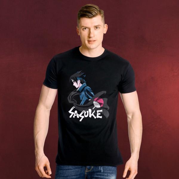 Naruto - Sasuke Uchiha T-Shirt schwarz