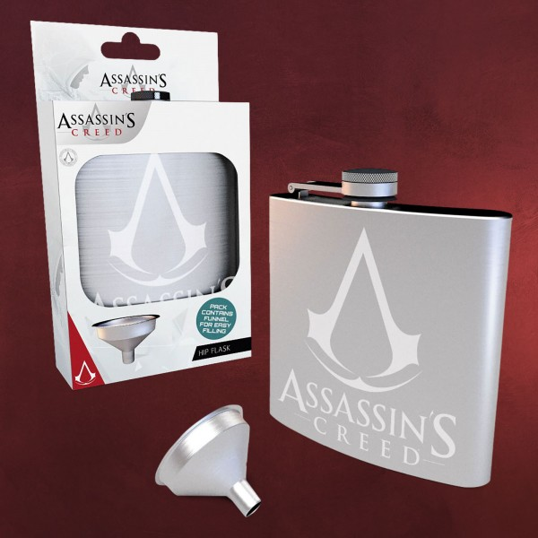 Assassins Creed - Logo Flachmann