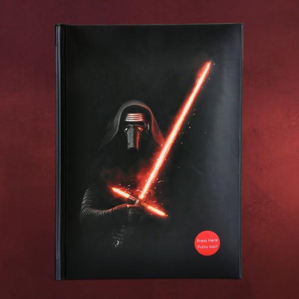 Star Wars - Kylo Ren Notizbuch mit Licht und Sound