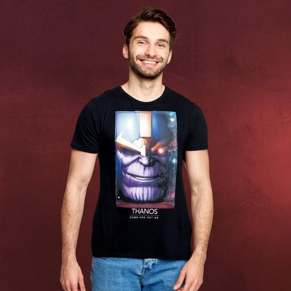 Avengers - Thanos Titan T-Shirt schwarz