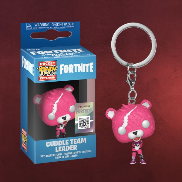 Fortnite - Cuddle Team Leader Funko Pop Schlüsselanhänger