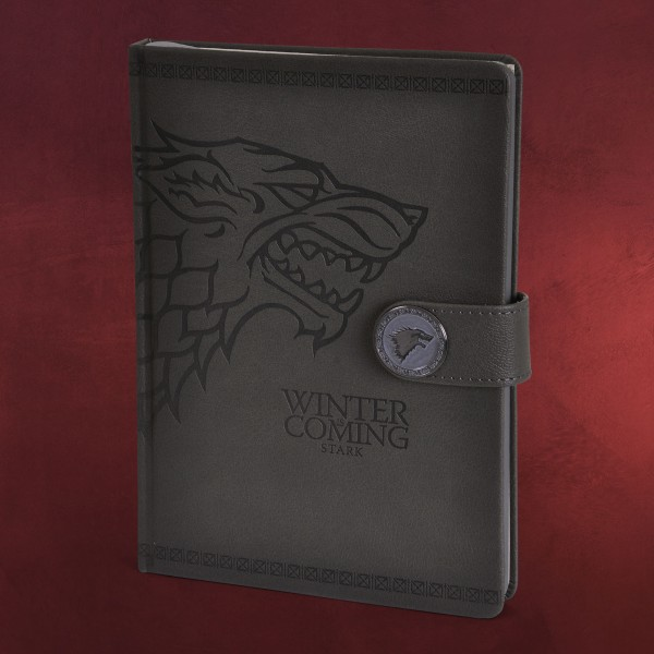 Game of Thrones - Stark Wappen Premium Notizbuch A5