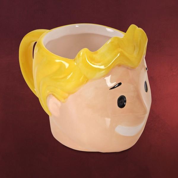 Fallout - Vault Boy 3D Tasse