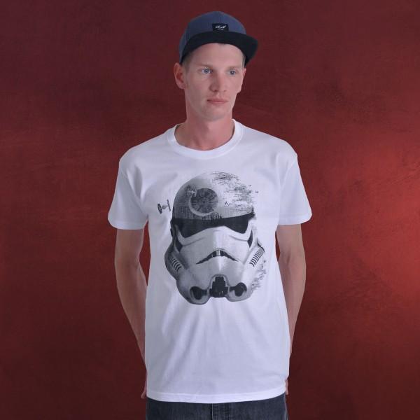 Star Wars - Deathly Trooper T-Shirt weiß