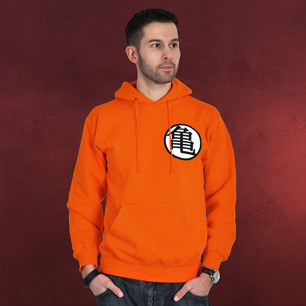 Dragon Ball - Kaio Hoodie orange
