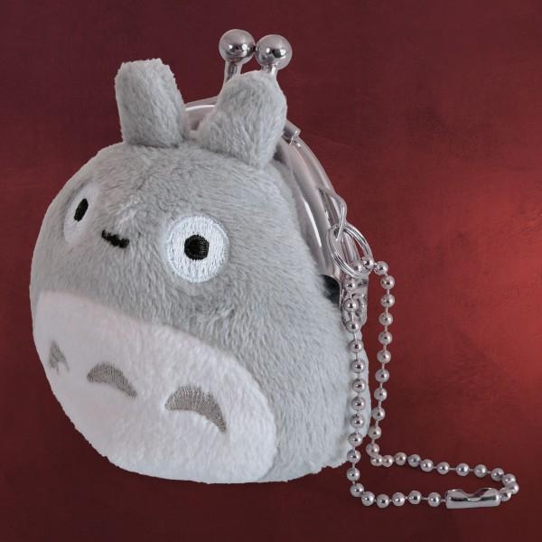 Totoro - Plüsch Kleingeldbörse grau