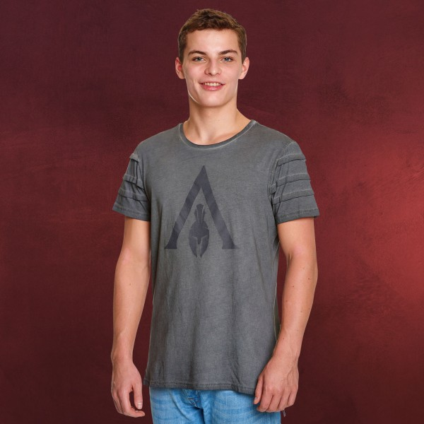 Assassins Creed - Odyssey Logo T-Shirt grau