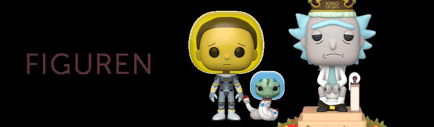 Rick and Morty Figuren