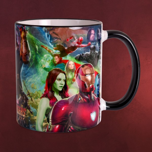 Avengers - Infinity War Collage Tasse