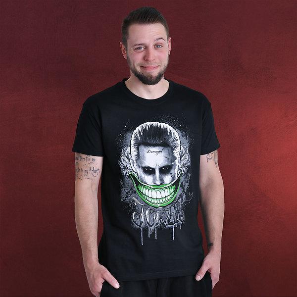 Suicide Squad - Joker Smile T-Shirt schwarz