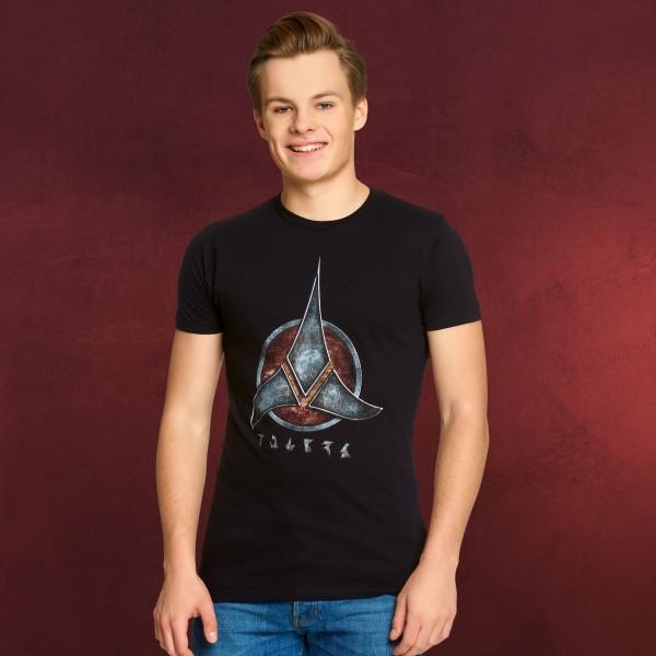 Star Trek - Klingonen Emblem T-Shirt schwarz