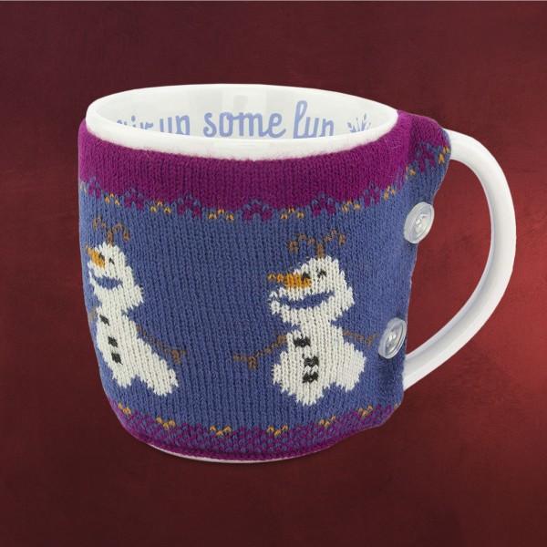 Frozen - Olaf Tasse mit Tassenwärmer