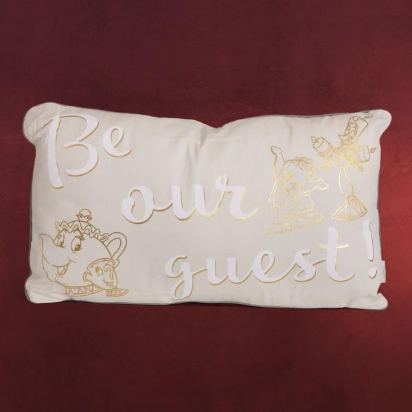 Die Schöne und das Biest - Be Our Guest Kissen