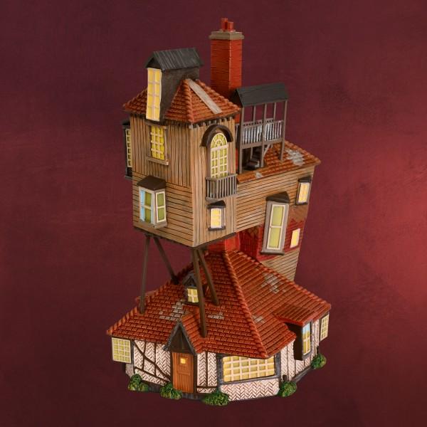 Fuchsbau Miniatur Replik mit Beleuchtung - Harry Potter
