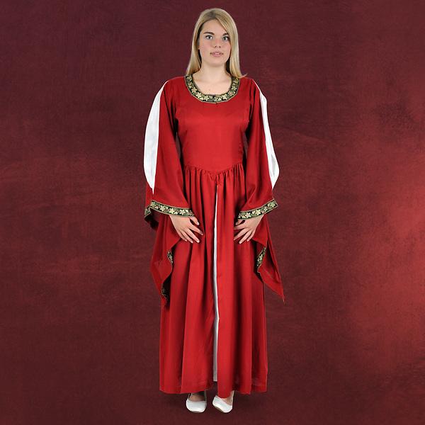 Mittelalter Kleid Leila rot
