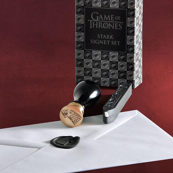 Game of Thrones - House Stark Siegel-Set