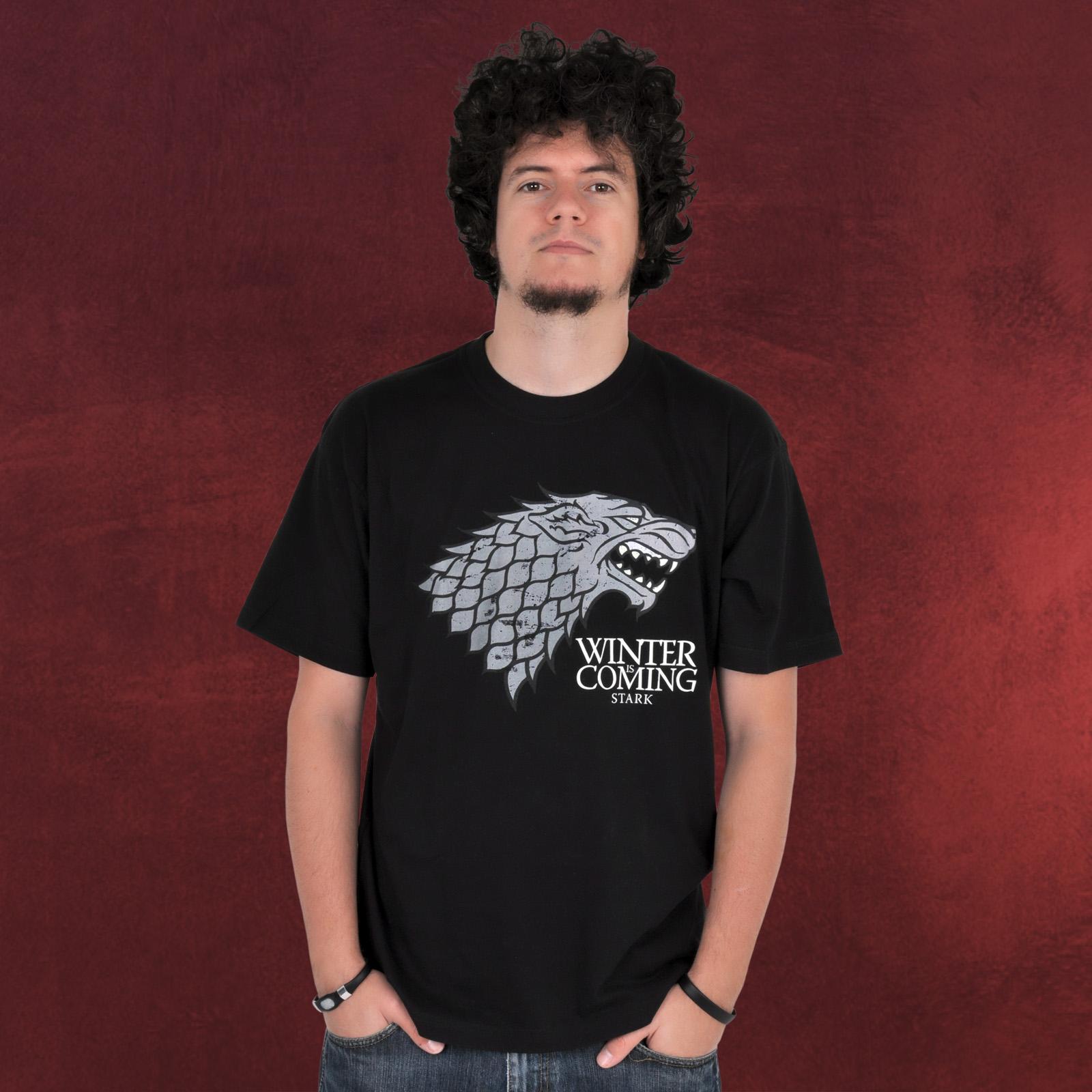 Game Of Thrones House Stark T Shirt Elbenwald