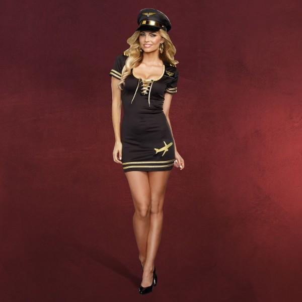 Sexy Pilotin - Kostüm Damen