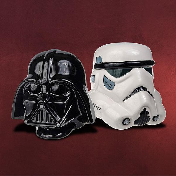 Star Wars - Darth Vader und Stormtrooper Buchstützen