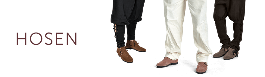 Mittelalter - Bekleidung - Hosen