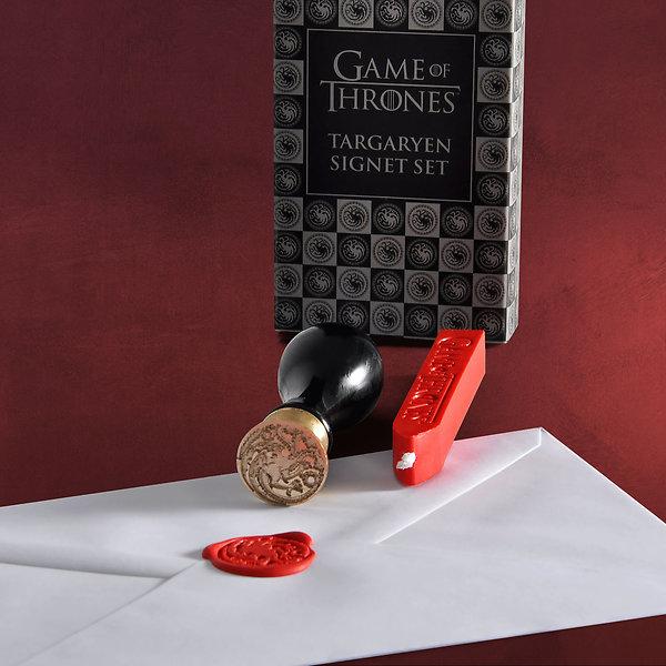 Game of Thrones - House Targaryen Siegel-Set