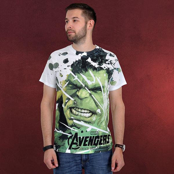 Avengers - Age of Ultron - Hulk T-Shirt weiß