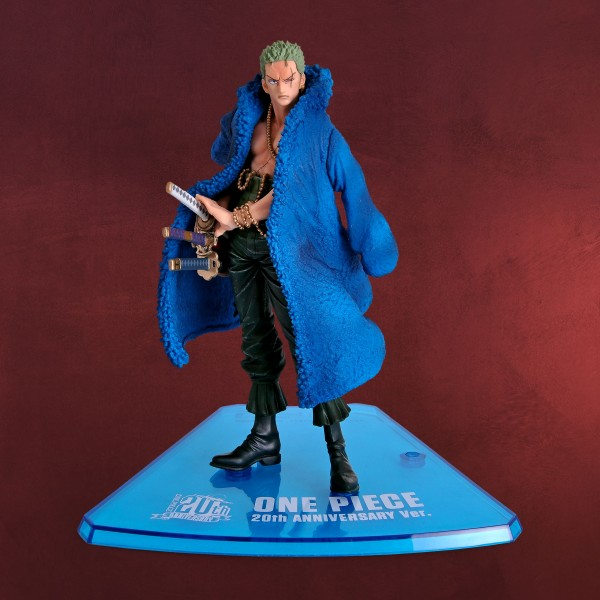 One Piece - Roronoa Zoro 20th Anniversary Figur 15 cm