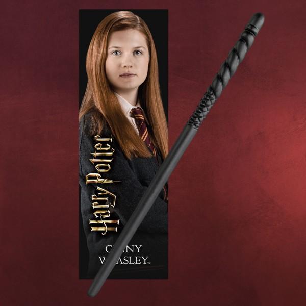 Ginny Zauberstab für Jungzauberer mit Lesezeichen - Harry Potter