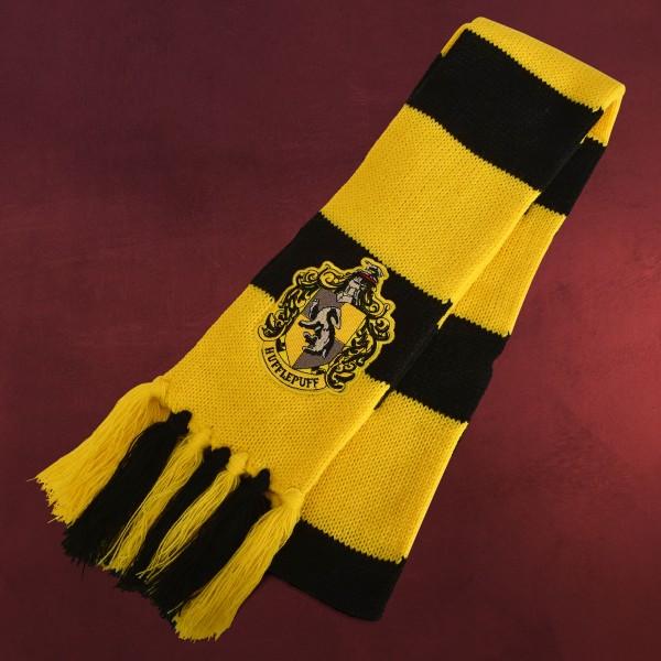 Harry Potter - Hufflepuff Wappen Kostüm Strickschal