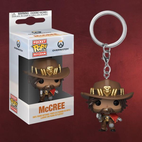 Overwatch - McCree Funko Pop Schlüsselanhänger