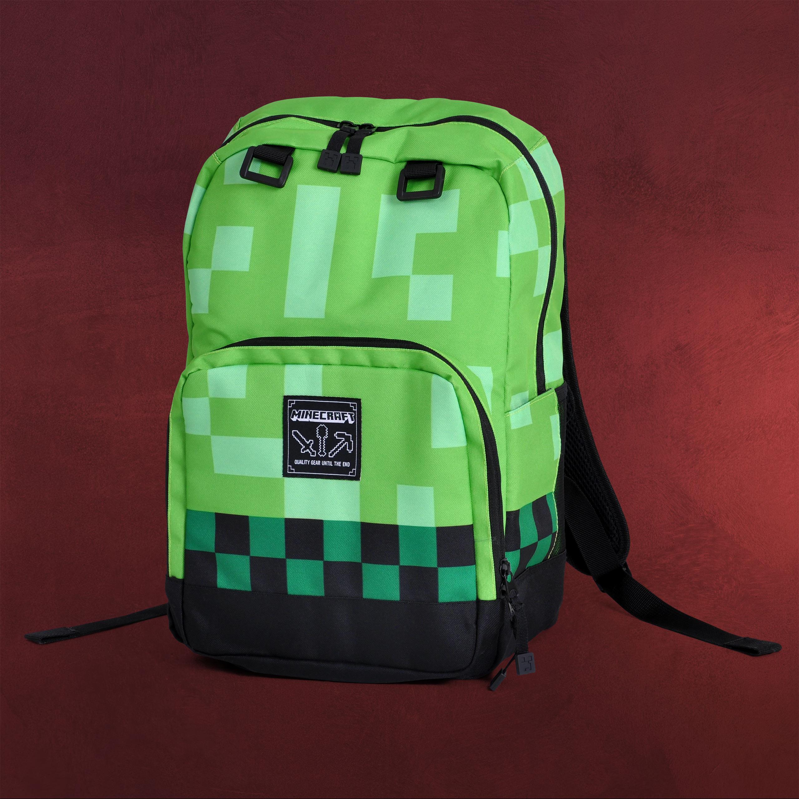 Minecraft - Creeper Rucksack   Elbenwald