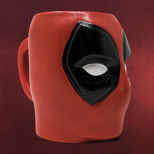 Deadpool - Face 3D Tasse