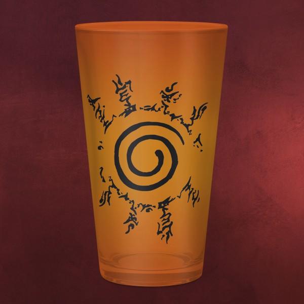 Naruto Shippuden - Konoha & Seal Glas